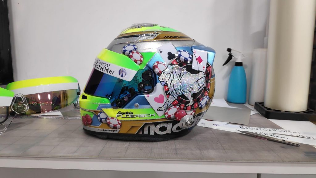Pintura casco Jota Designs