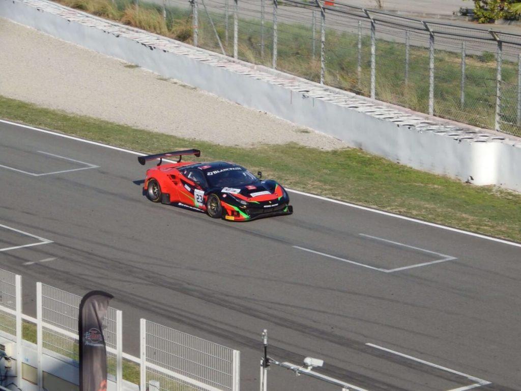 GT3 en la recta