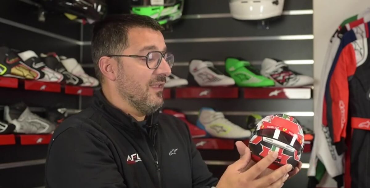 Unboxing & Review Mini Helmet Charles Leclerc Monza 2019
