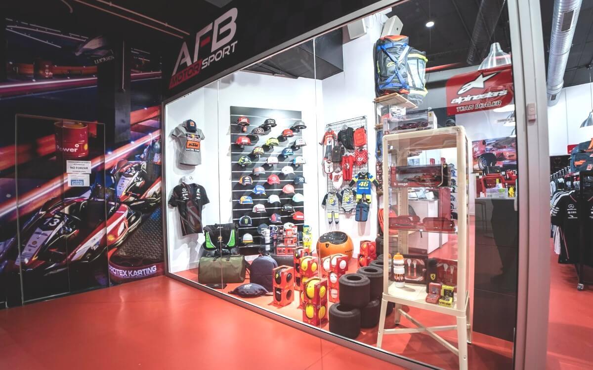 Tienda Centro Comercial Vilamarina AFB Motorsport