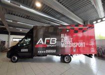 Nuevo camión tienda de AFB Motorsport para los circuitos