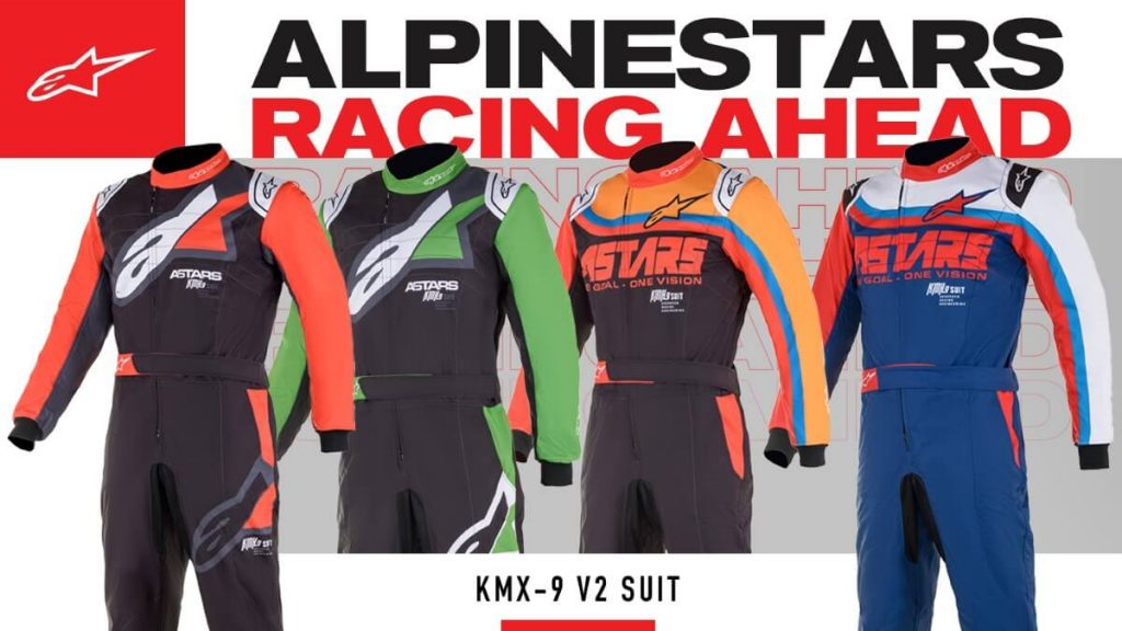Mono competición Karting Alpinestars KMX-9 V2 2021