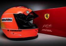 Michael Schumacher Japan 2000 Mini helmet