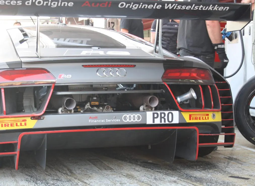Airjack parada en boxes Audi
