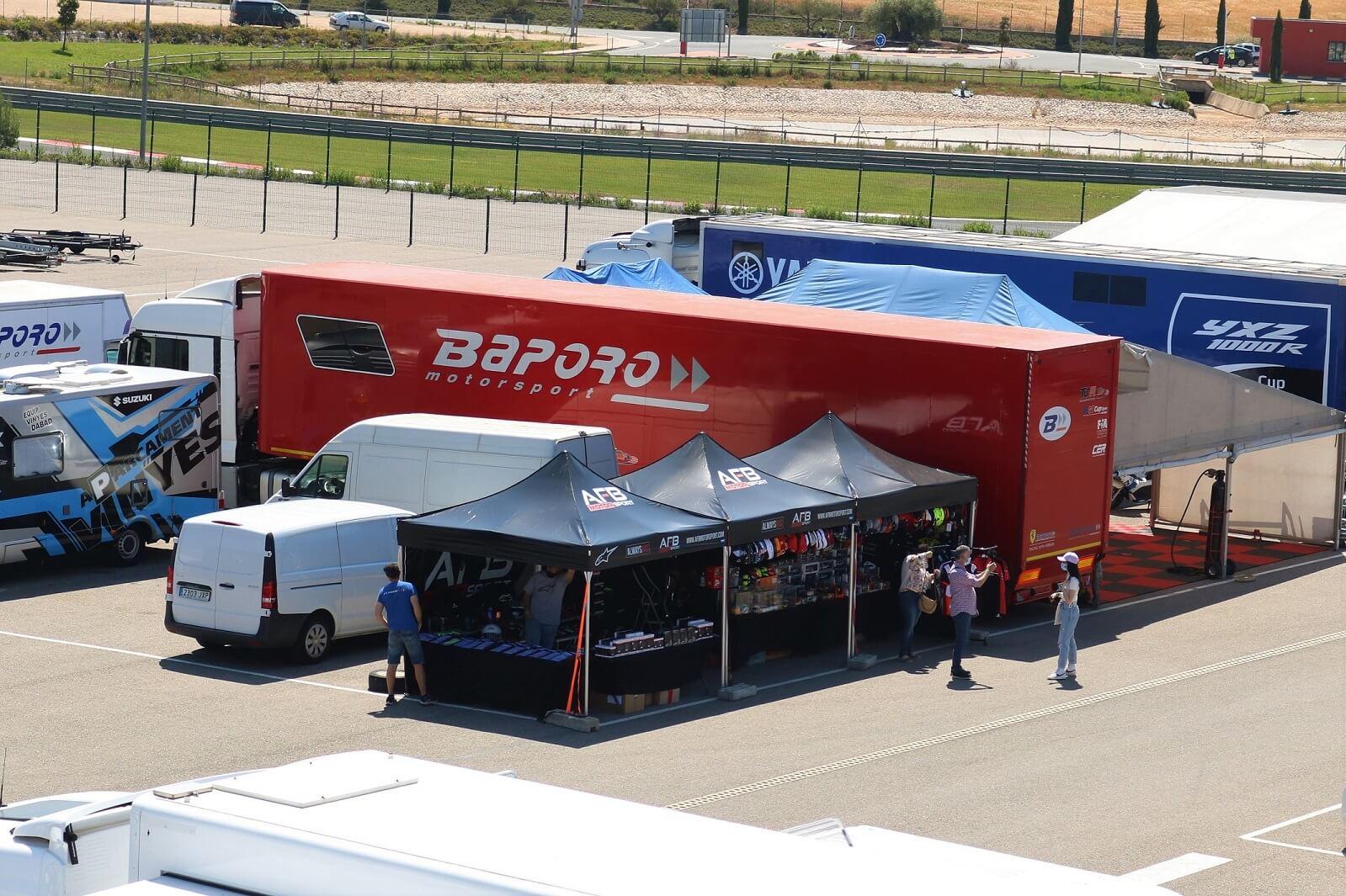 AFB Motorsport tienda circuito Navarra