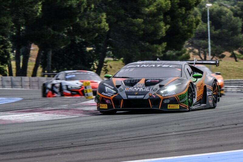 Lamborghini Paul Ricard