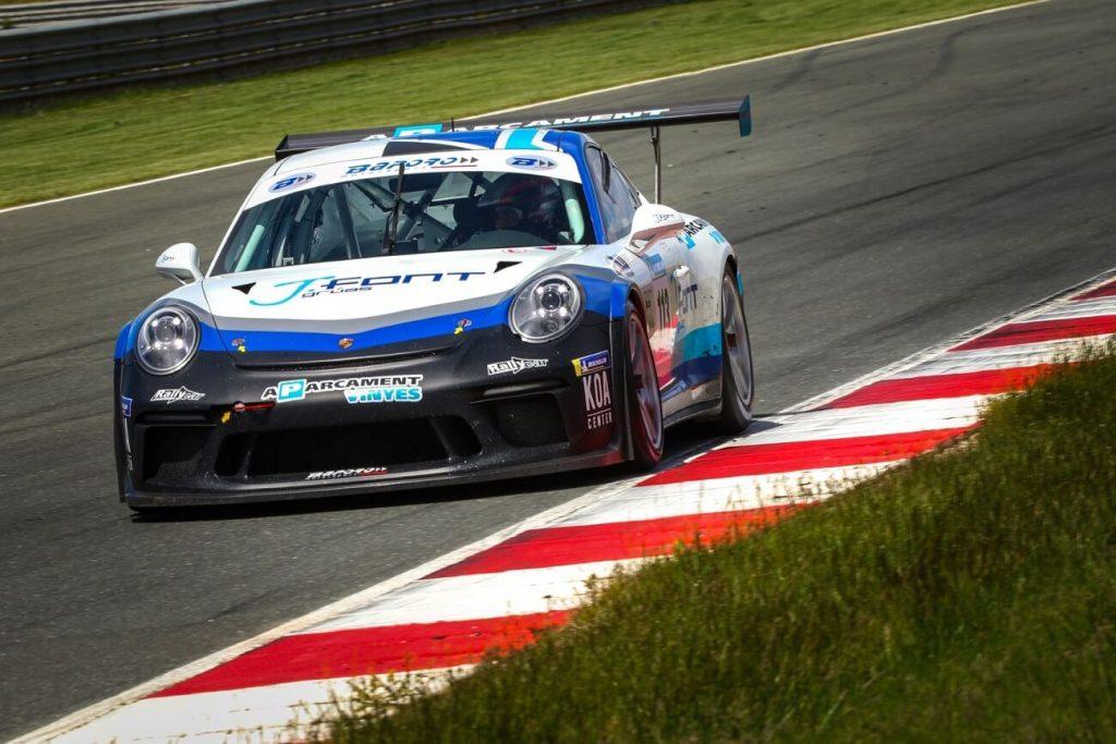 Porsche 911 de Baporo Motorsport.