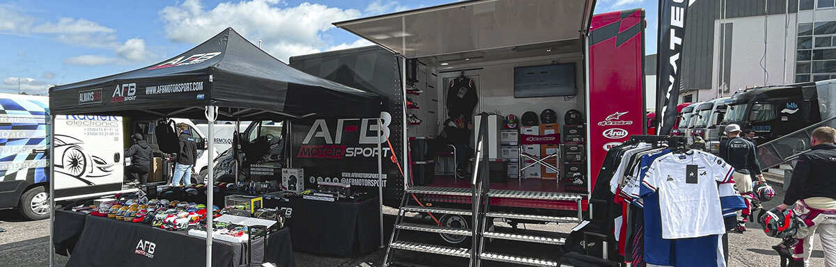 Stand AFB Motorsport France Magny-Cours 2021