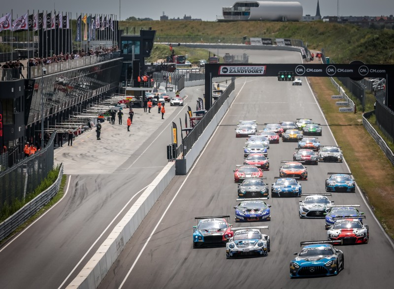 El GT World Challenge regresó a Zandvoort