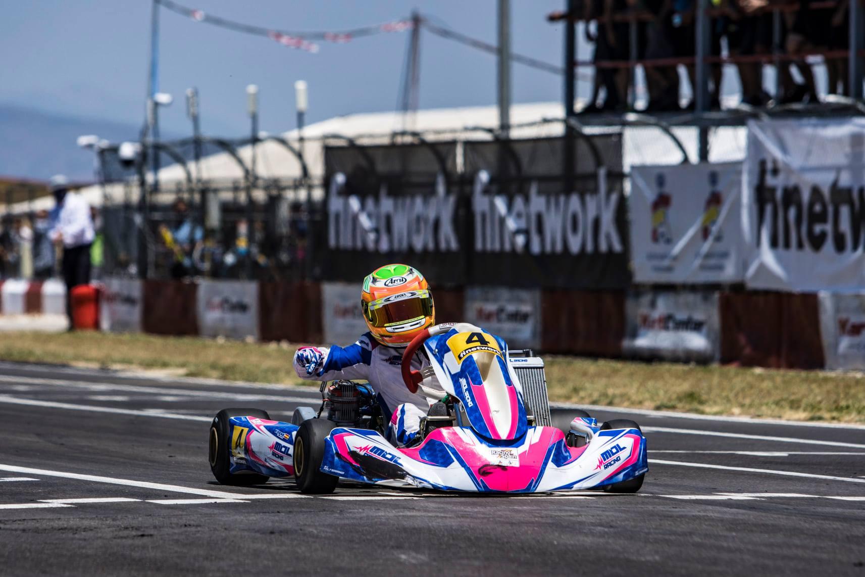 El Campeonato de España de Karting sigue rumbo a Zuera